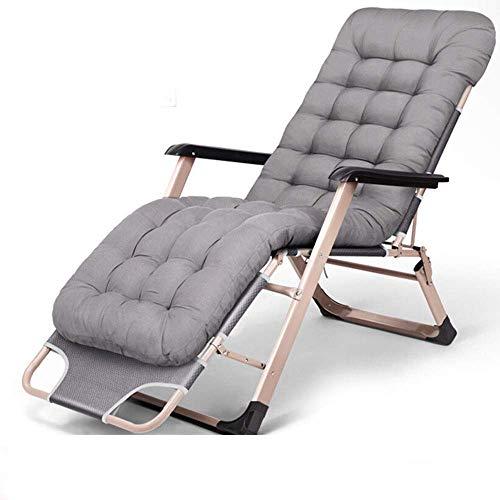 XHCP Coussin de Coton perlé, chaises Longues et inclinables de Jardin Pliantes, idéal pour Le Jardin à l'arrière du Jardin, Pique-Nique, Camping, Plage, Relaxant, siège Confortable et extérieur,