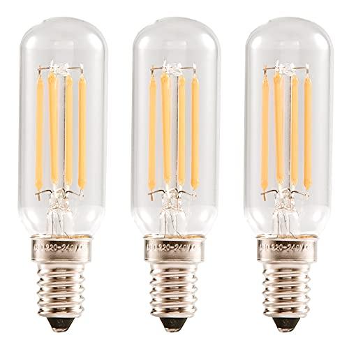 OeyeO Bombilla LED C7 2 W E14 Bombilla Vintage con 2700 K Blanco Cálido 200 lm no regulable Sustituye 20 W Bombillas de filamento Mini Bombillas para lámpara, Lámparas Decorativas, Pack de 2