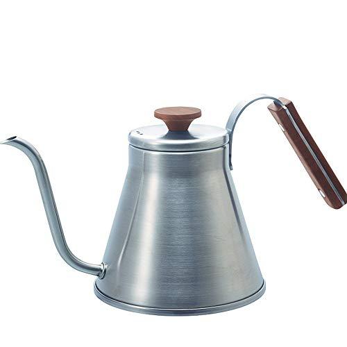 PN-Braes Tetera de cafe Mano-Lavado Slender Articulado Pot 800ml for Ministerio del te del cafe Pueden Lavar en lavavajillas de Acero Inoxidable para el Servicio de cafe