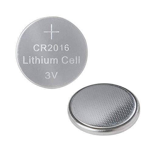 LogiLink 3V CR2016al litio a bottone/batterie (confezione da), per dieverse dispositivi quali orologi, chiavi auto, calcolatrici, Radio fernbedieungen, etc.