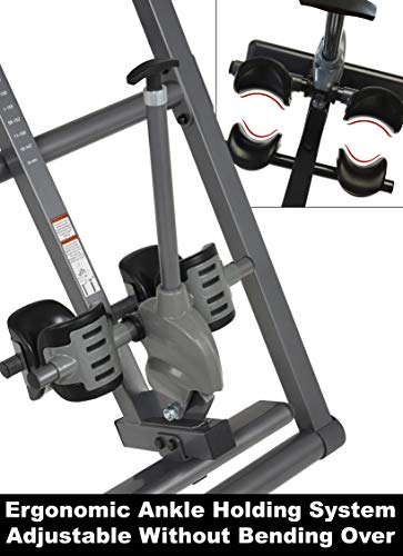 Product Image 2: Innova Health and Fitness ITM4800 Advanced Heat and Massage Therapeutic Inversion Table