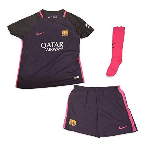 Nike FCB LK AW KIT - Kit FC Barcelona Lila - S - Unisex Kinder