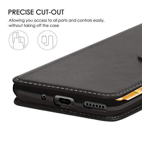 ykooe Handyhülle für Huawei Mate 30 Pro Hülle, Schwarz PU Leder Schutzhülle für Huawei Mate 30 Pro Flip Case Tasche - 5