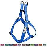 Pawtitas Arnes de Entrenamiento Chaleco Pechera para Perros y Cachorros arnes de adiestramiento Ideal para Caminar Perros Cachorros arnes Grande Color Azul