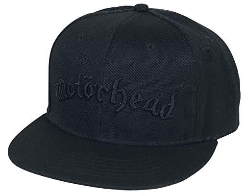 Motörhead Black Logo - Snapback Cap Cap schwarz