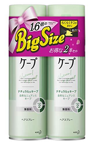 【まとめ買い】 ケープ ナチュラル & キープ 無香料 特大 300g×2個 セット 300グラム (x 2)