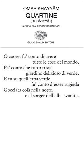 Quartine (Collezione di poesia Vol. 150)