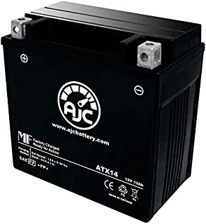 Vespa GTS 300 GTS 300 Super 300CC Motorcycle Replacement Battery (2009-2013) - This is an AJC Brand Replacement