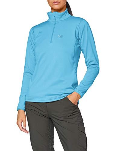 MILLET - Seneca Tecno W - Sportliche Fleecejacke für Damen- Wandern, Trekking, Lifestyle - Blau