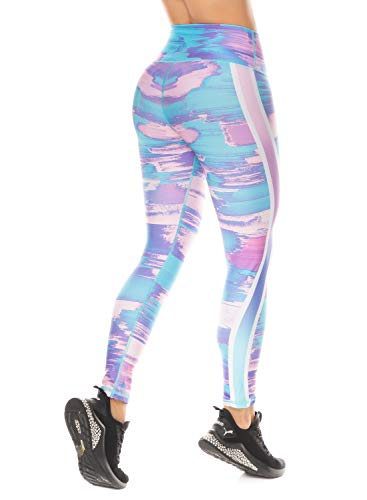 Shape Concept Colombian Workout high Waisted Leggings for Women | Compression Tight Crossfit Yoga Pants Many Styles (SCL031)