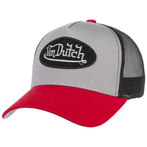 Von Dutch Gorra Trucker OGDutch de Beisbol Baseball (Talla única - Gris-Negro)