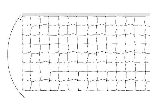 Volleyballnetz 9,5M*1M Tragbar Profi Volleyball Netz Faltbares Badmintonnetz Badminton Netz Volleyball Net ohne Rahmen Tischtennisnetz Federballnetz Mobiles Ersatznetz Indoor Outdoor Garten Strand