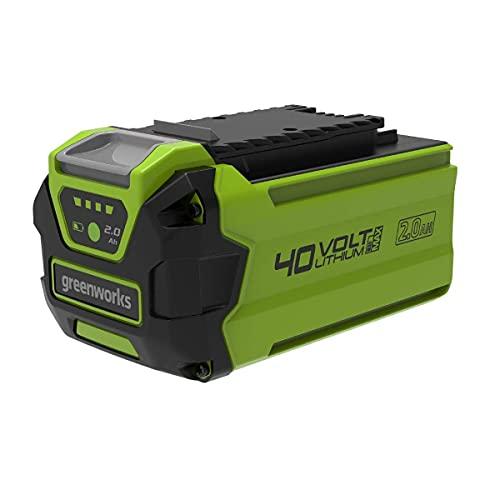 Greenworks Tools Akku G40B2 (Li-Ion 40 V 2 Ah wiederaufladbarer leistungsstarker Akku passend für alle Geräte der 40 V Greenworks Tools Serie)