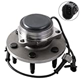 MOSTPLUS Wheel Bearing Hub Front Wheel Hub and Bearing Assembly 515054 Compatible for Chevy Cadillac GMC with ABS 6 Lug Only for 2WD