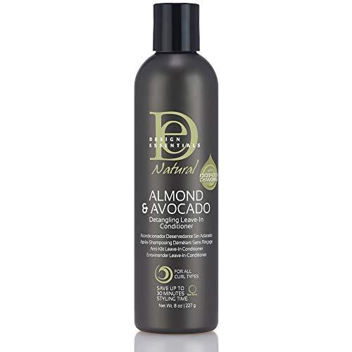Design Essentials Natural Almond & Avocado Hair Conditioner (Women, Water [Aqua], Glycerin, Methyl...
