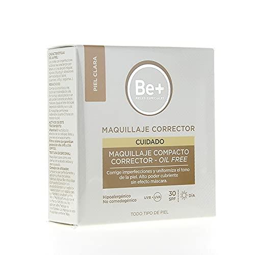 BE+ MAQUILLAJE COMPACTO CORRECTOR OIL-FREE SPF30 PIEL CLARA