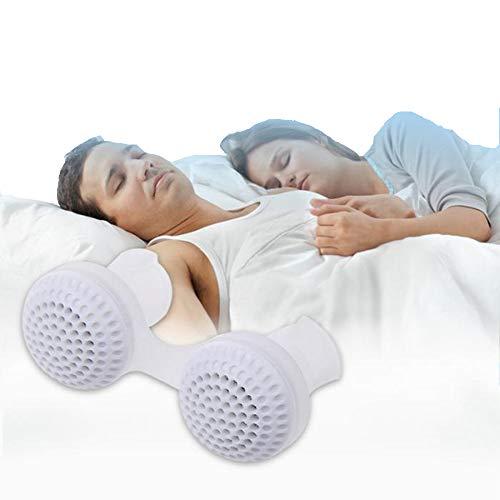 MEET Clip de para la Nariz,Versión Mejorada Dispositivo Anti Ronquidos Purificador Aire, Dilatador Nasal,para Aliviar los Ronquidos Mejorar la Respiración, Soluciones Anti Ronquidos,White