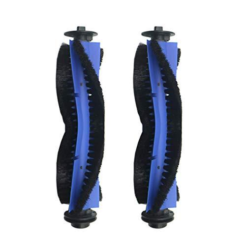 2Pcs Roller Brush for Goovi 1600PA D380 D382,Coredy R3500 R3500S R550(R500+) R650 R600 R700 R750,iMartine C800 D900 D900C, DeenKee DK600, Bagotte BG600 Robot Vacuum