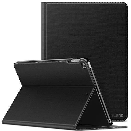 INFILAND iPad 9.7 2018/2017 Funda Case, Super Delgada Soporte Frontal Cover con Auto Reposo/Activación Función para Apple iPad 9,7 5/6 Generation (A1893/A1954/A1822/A1823),iPad Air/air2,Negro