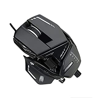 Mad Catz The Authentic R.A.T. 8+ Optical Gaming Mouse, Black (B07VQH1R52) | Amazon price tracker / tracking, Amazon price history charts, Amazon price watches, Amazon price drop alerts