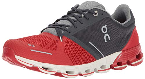 On-Running Mens Cloudflyer Red/White Running Shoe - 8.5