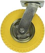 ProPlus zwenkwiel met PU-band 8 inch geel 2.50-4