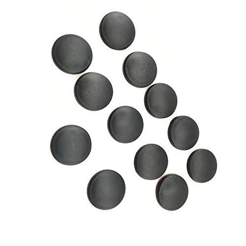 JTSGHRZ para Alfa Romeo Milano 159147156 Mito Emblema, Cubierta de Tornillo de Bloqueo de Puerta de Coche
