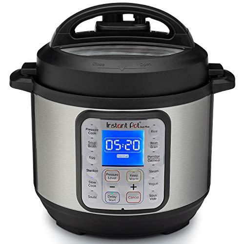 Instant Pot Duo Plus Mini 9-in-1-Schnellkochtopf, Slow Cooker, Reiskocher, Dampfgarer, Saute, Joghurtbereiter und Wärmer, 3 l, 13 One-Touch-Programme