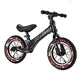 DFBGL Bicicleta de Equilibrio para niños Bicicleta para niños pequeños para Principiantes Bicicleta sin Pedales para niñas Niños de 18 Meses 2 3 4 5 años Bicicleta de Entrenamiento Liger