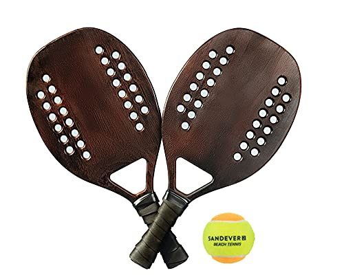 Kit Raquetes Beach Tennis- Sandever 10