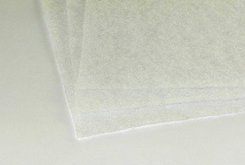 G4 EU4 ca. 2 x 1 m - Dicke ca. 1-3 mm ca. 50g/m² Vorfilter Filtervlies Staub Lüftung Klima Badlüfter Ventilator Lüfter Heizung Kompressor Gebläse Vliesmatte