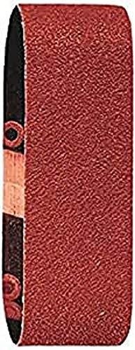 Bosch DIY 3tlg. Schleifband-Set (für Bosch Varioschleifer verschiedene Materialien, 40 x 305 mm, Körnung 60/80/120)