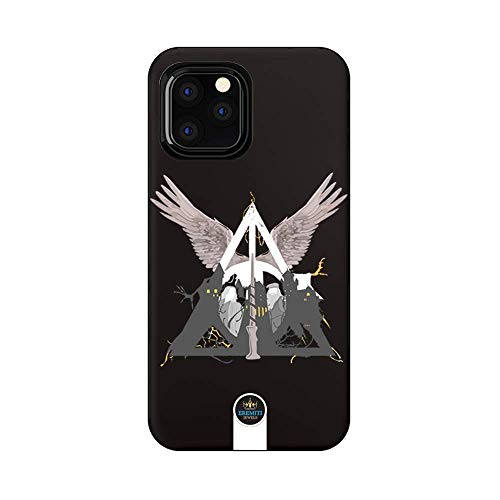 EREMITI JEWELS Cover Personalizzata Triangle Circle Angel for Smartphone Compatibile iPhone (11)