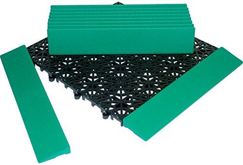 Miltex 11131 Conclusion Barres pour Yoga Grille, 30 x 5,5 cm, Lot de 10, Vert