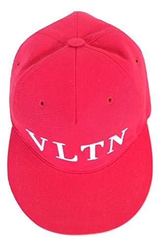 Valentino GARAVANI Cappello Berretto Baseball VLTN QY2H0A8KQY Rosso tg. 58 (Rosso)