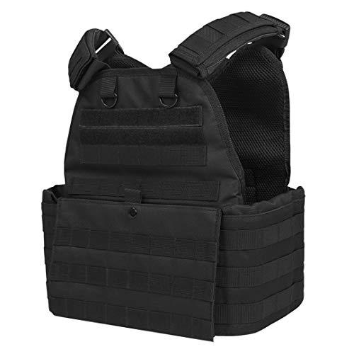 "ATG Duty Vest 11""X13"" Fully Adjustable Law Enforcement (Black)"