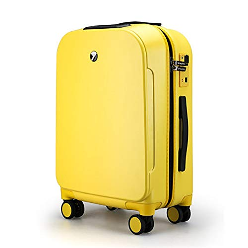 Best Review Of DHUYUN Lightweight Suitcases Trolley Case Smart Boarding Suitcase Luggage Fingerprint...