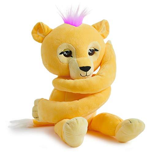 Wow Wee 3539 Hundespielzeug, interaktives Plüschtier mit Löwenmotiv, Braun