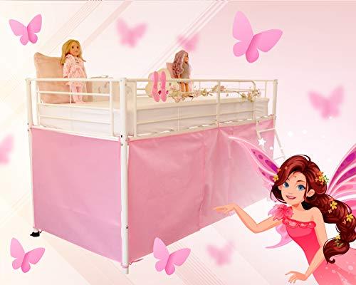 HedgehogEmporium Midsleeper Tent for Cabin Bed, Mid sleeper Pretty P