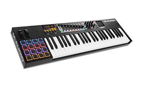 4. Piano Midi de 61 botones M-Audio Code 49