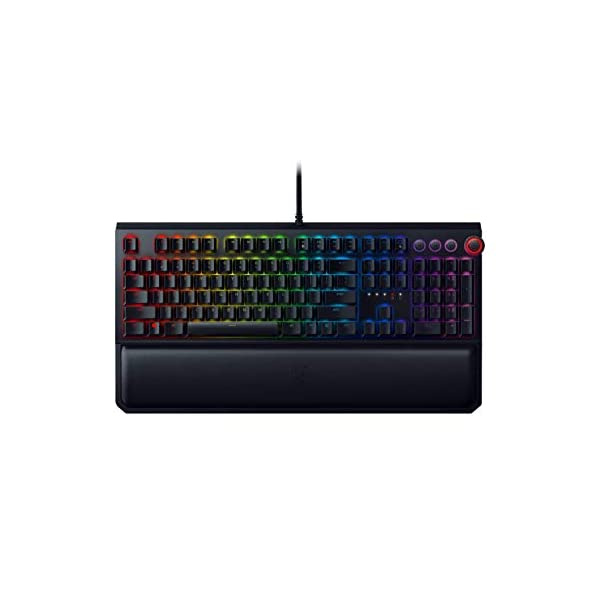 Razer BlackWidow Elite Mechanical Gaming Keyboard: Green Mechanical Switches –...