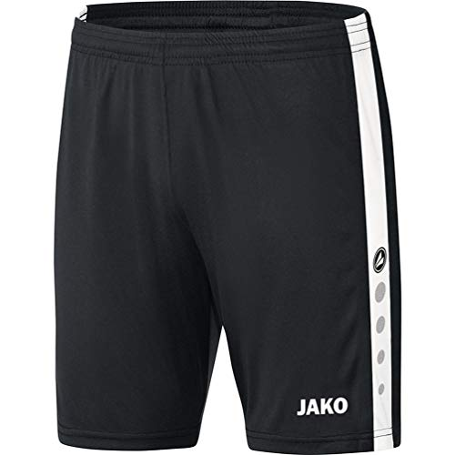 JAKO Striker 4406 Pantalon de Sport pour Homme Bleu Marine/Blanc Taille XXL XL Noir/Blanc.