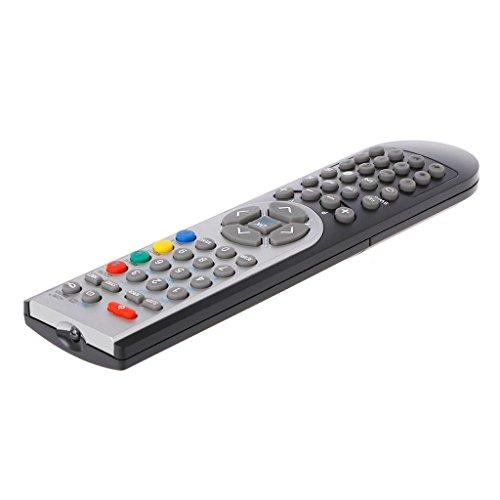 bibididi Reemplazo LCD TV Control Remoto Rc1900 para Vestel/Oki/Toshiba/Grundig/Finlux, Control Remoto 2.4Ghz