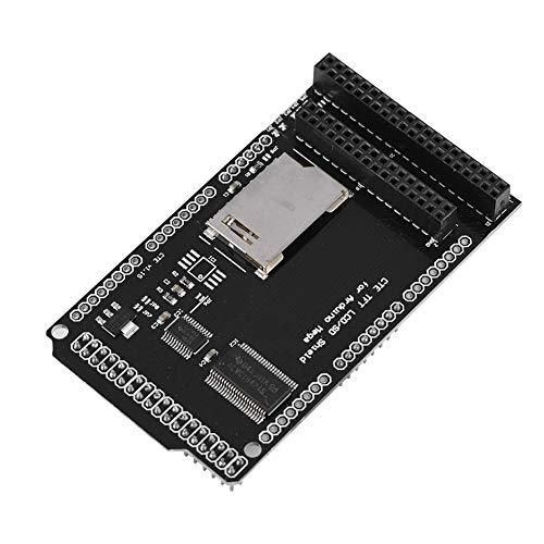 Cosiki SD-Kartenschild, TFT/SD-Schild-Erweiterungskarte 40-polige Version 32/40-poliges LCD-SD-Schild, TFT-LCD-Modul, für Arduino