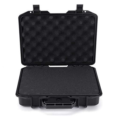 GAOLE Portatile Impermeabile Rigida Borsa Tool Case Bag Kit Box di stoccaggio di Sicurezza Protector Organizzatore Hardware Toolbox Resistente agli Urti (Color : M)