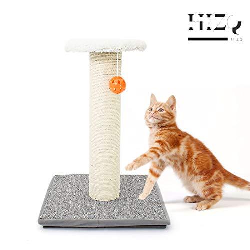 HIZQ Katzenkratzbaum, Ökologischer Kratzbaum Für Katzen Freistehender Kratzbaum Mit Sisal Und Wildball, Geeignet Für Freizeit Und Unterhaltung Bei Katzen