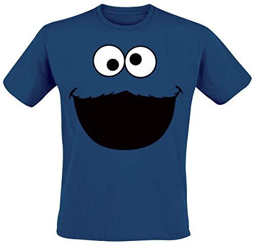 Rue Sésame Monster T-Shirt homme royal - XL