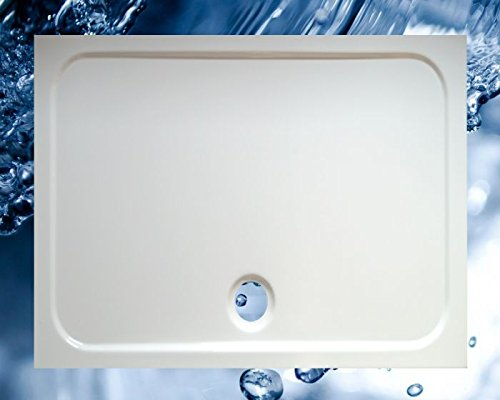 Duschbecken 1300x1000 mm bzw. 1000x1300 mm flach/Duschwanne 130x100 cm bzw. 100x130 cm
