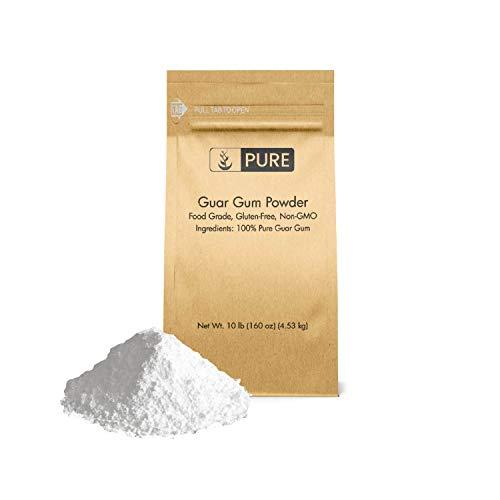 Guar Gum Powder (10 lb) 100% Food Safe , Gluten-Free, Non-GMO, Thickening Agent