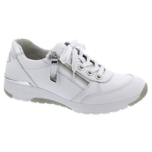 Gabor Casual Sneaker in grote maten wit 46.973.50 grote damesschoenen